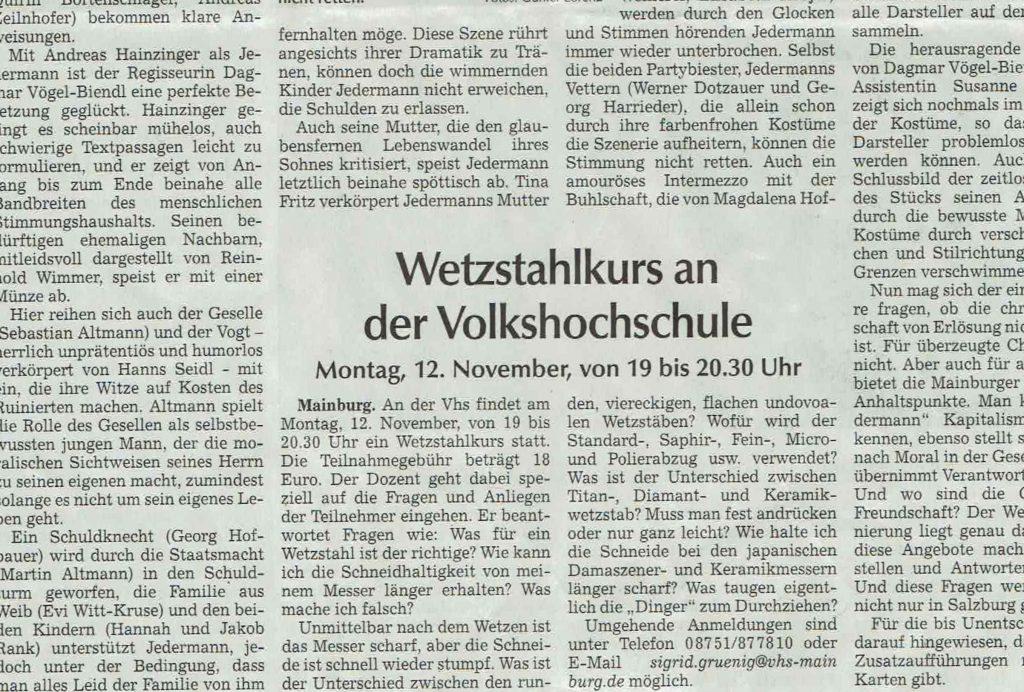 Hallertauer Zeitung 23.10.2018