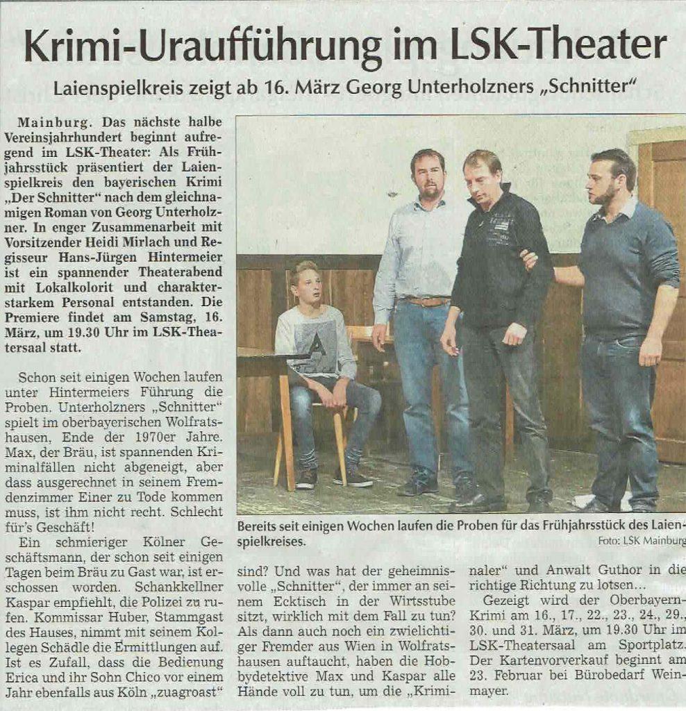 Hallertauer Zeitung 09.02.2019
