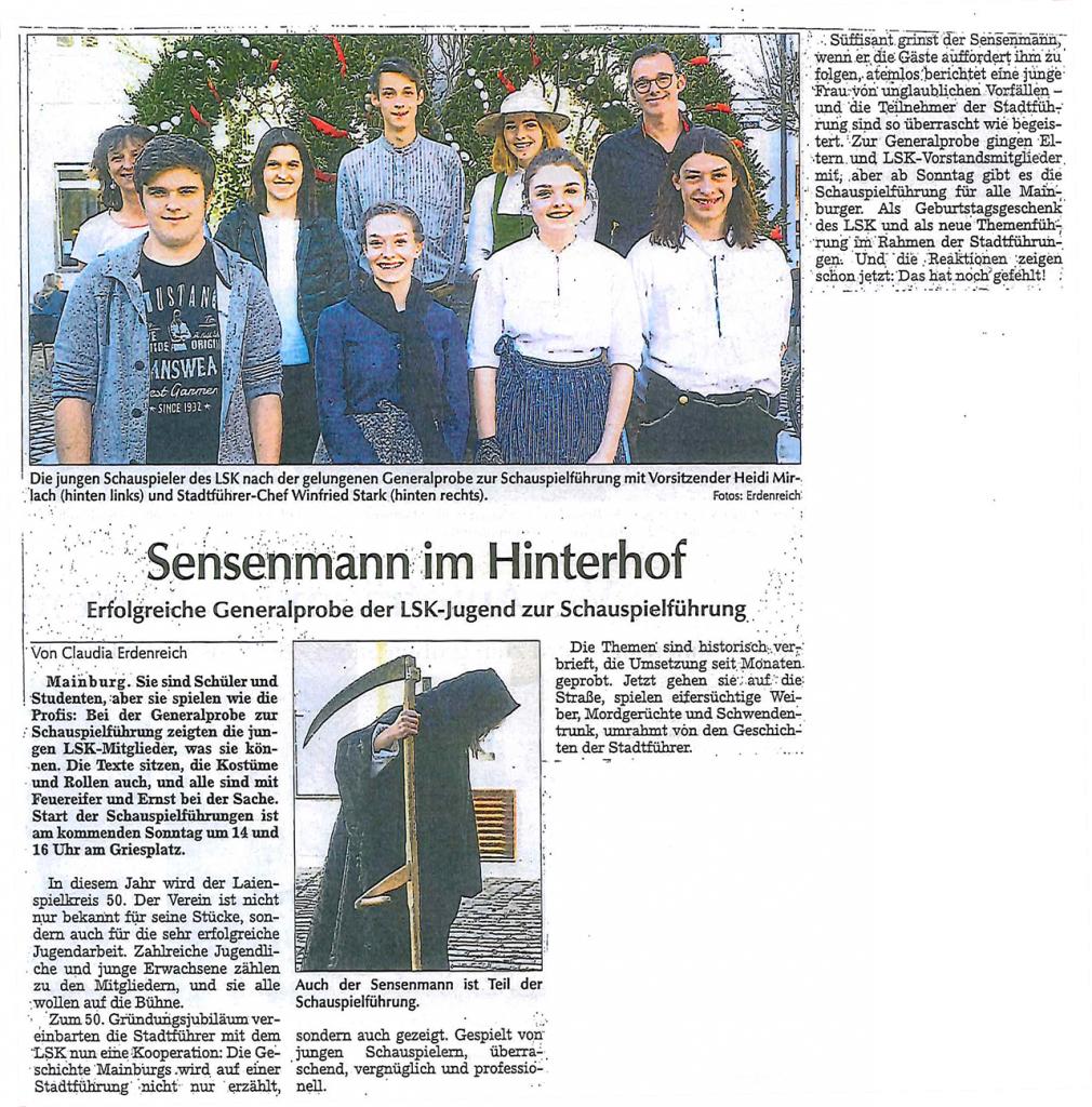Hallertauer Zeitung 10.04.2018