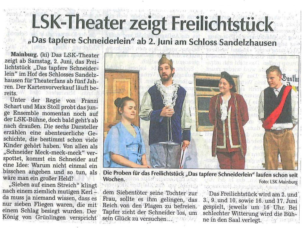 Hallertauer Zeitung 17.05.2018