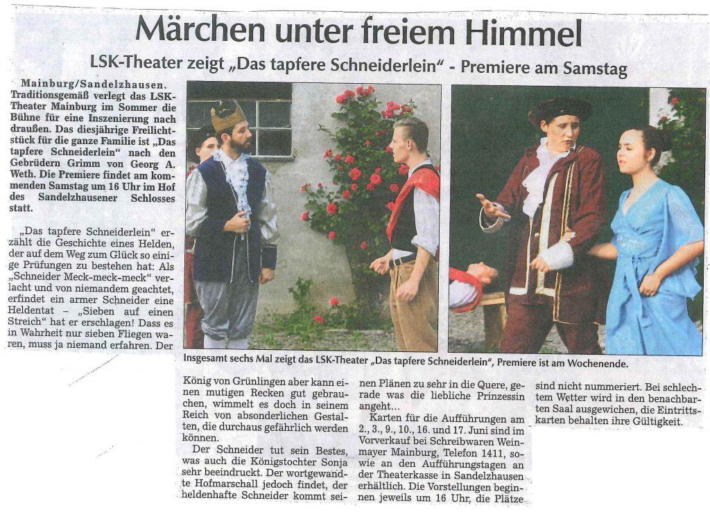 Hallertauer Zeitung 27.05.2018