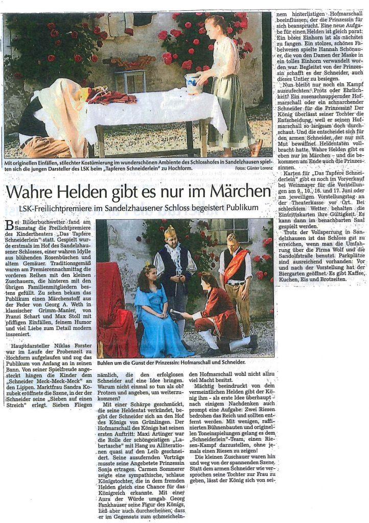 Hallertauer Zeitung 05.06.2018