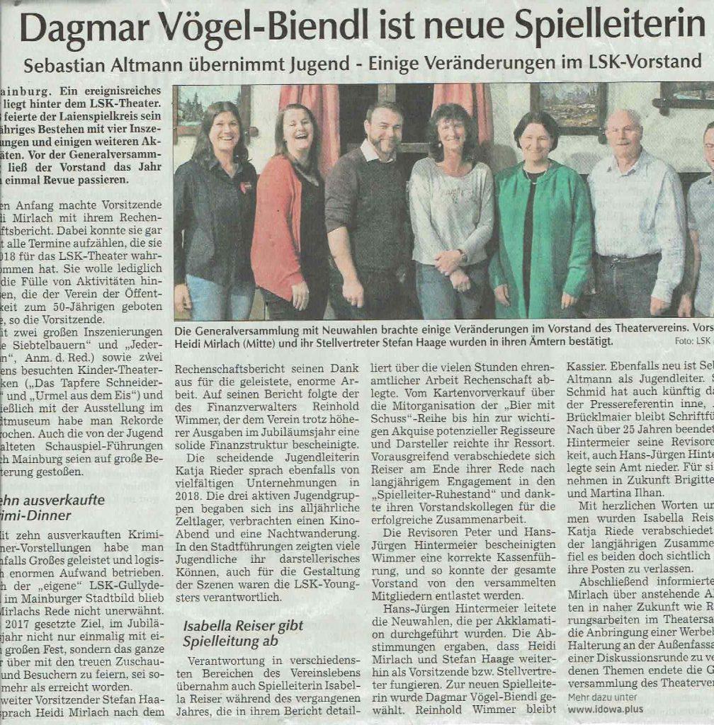 Hallertauer Zeitung 23.02.2019