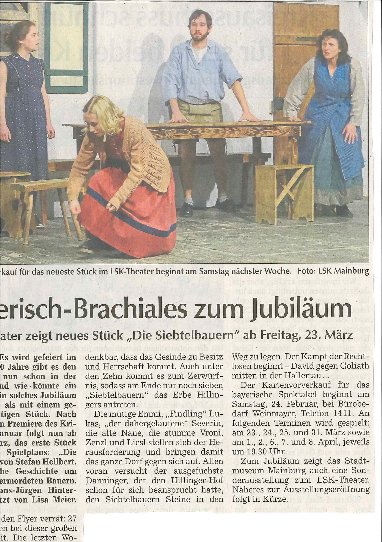 Hallertauer Zeitung 16.02.2018 Die Siebtelbauern