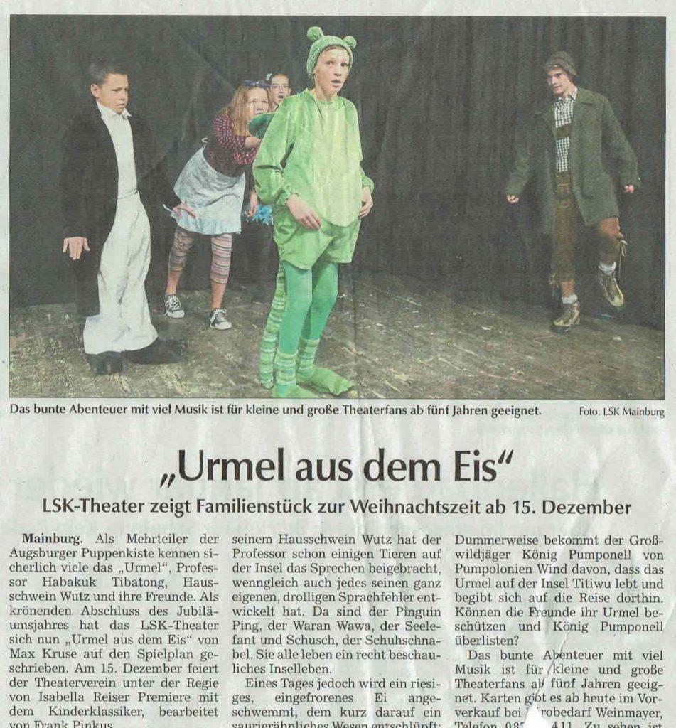 Hallertauer Zeitung 24.11.2018