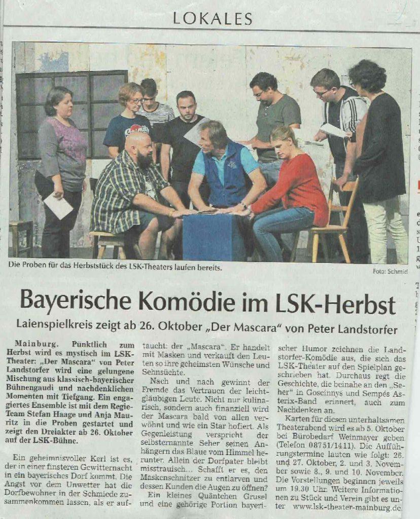 Hallertauer Zeitung 16.09.2019