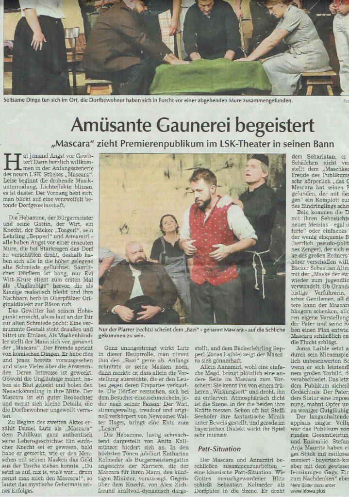 Hallertauer Zeitung 29.10.2019